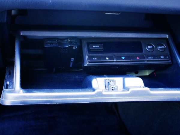AC PANEL RELOCATION TO GLOVE BOX