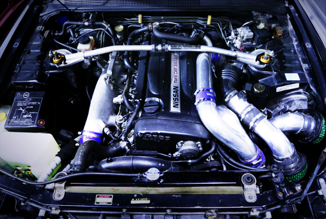 RB26 TWINTURBO ENGINE OF R33 GT-R MOTOR