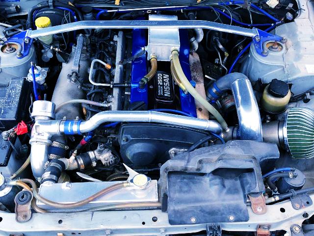 RB26 ITBs ON RB25DET TURBO ENGINE