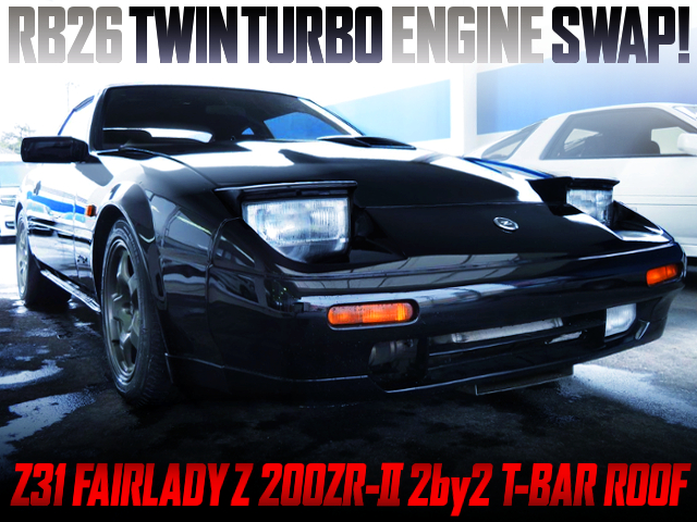RB26 TWINTURBO SWAPPED Z31 FAIRLADY Z 200ZR-2 2BY2 T-BAR ROOF