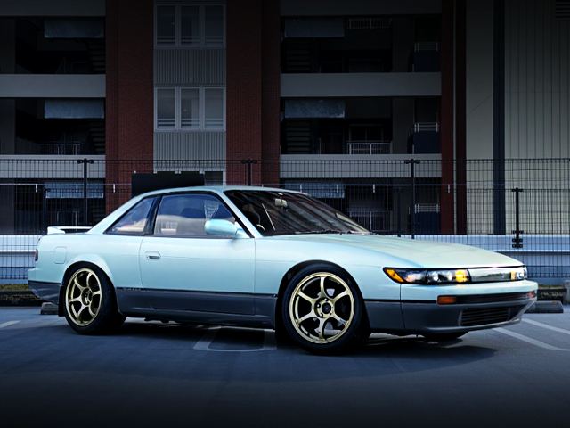 FRONT EXTERIOR OF S13 SILVIA Q's