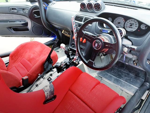 S14 SILVIA DRIFR CA INTERIOR