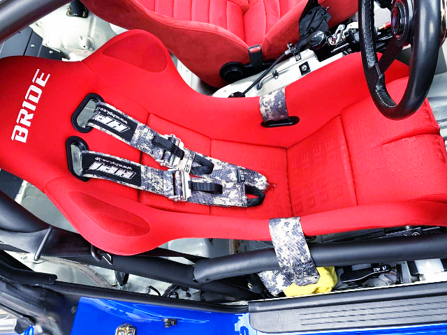 DRIVER'S BRIDE FULL BUCKET SEAT