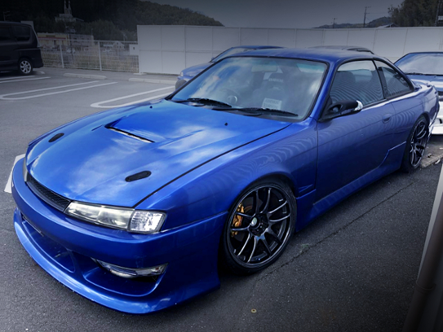 FRONT EXTERIOR S14 SILVIA TO BLUE