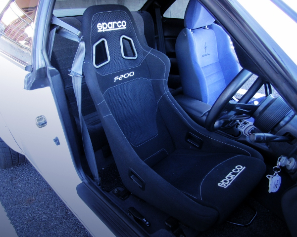 DRIVER'S SPARCO FULL BUCKET SEAT