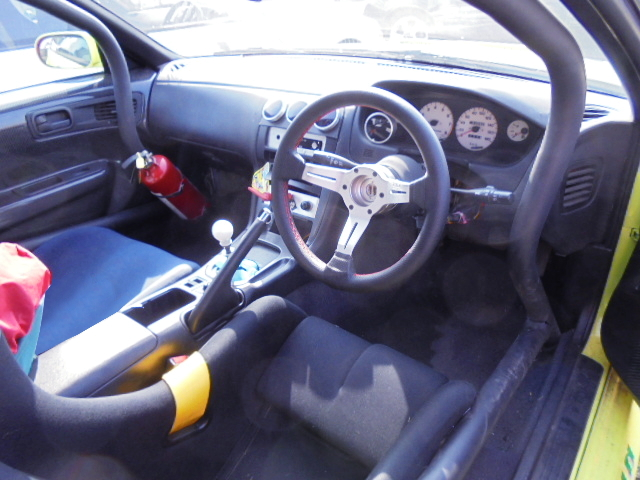 INTERIOR S14 SILVIA DRIFT CAR