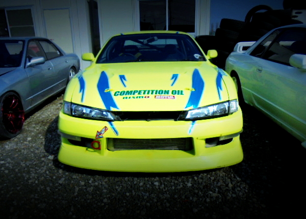 FRONT FACE OF S14 KOUKI SILVIA