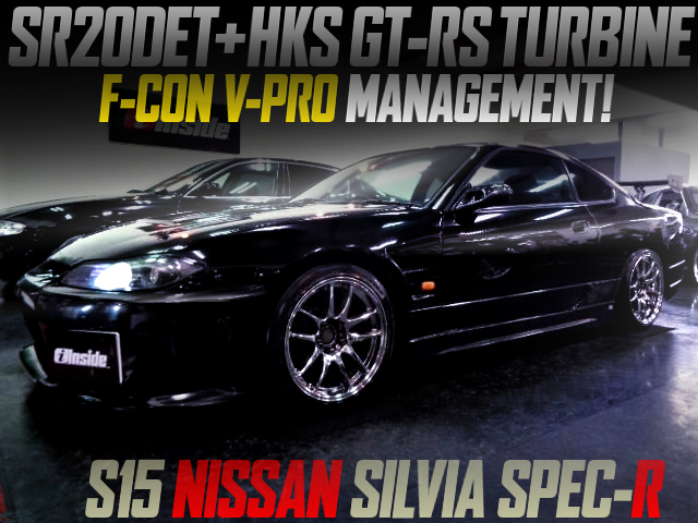 SR20DET With GT-RS TURBO AND F-CON V-PRO INTO S15 SILVIA SPEC-R