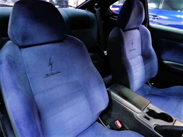 S15 SILVIA BLUE GENUINE SEATS