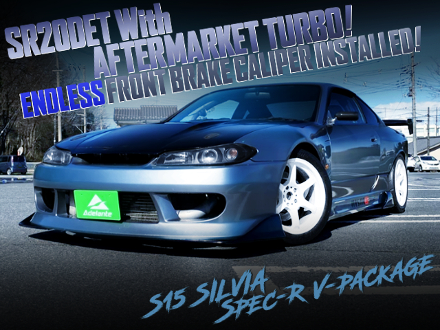 AFTERMARKET TURBO AND WIDEBODY WITH S15 SILVIA SPEC-R V-PKG