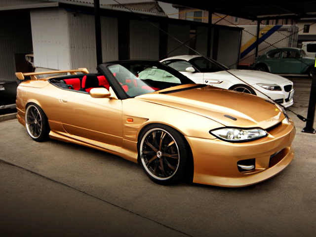 FRONT EXTERIOR OF S15 SILVIA VARIETTA TO GOLD