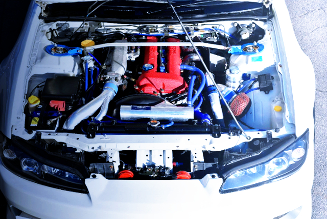 SR20DET TURBO ENGINE OF S15 MOTOR