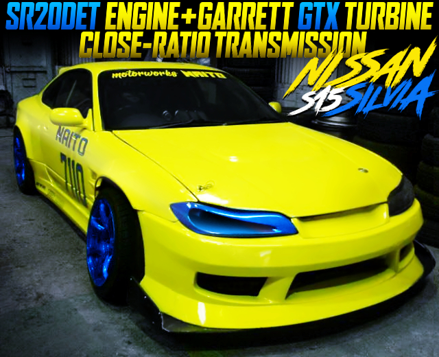 GTX TURBINE AND CLOSE-RATIO GEARBOX INTO S15 SILVIA DRIFT CAR