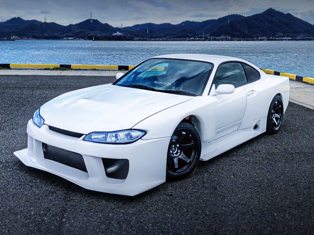 FRONT EXTERIOR OF S15 SILVIA SPEC R L-PKG WIDEBODY