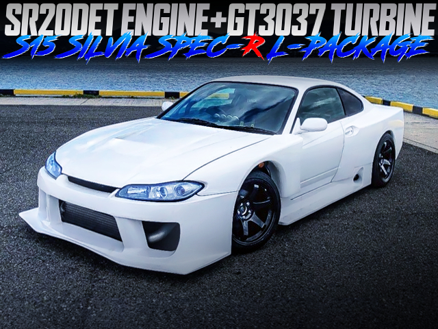 GT3037 TURBO And BLACK ILLUSION WIDEBODY TO S15 SPEC-R L-PACKAGE