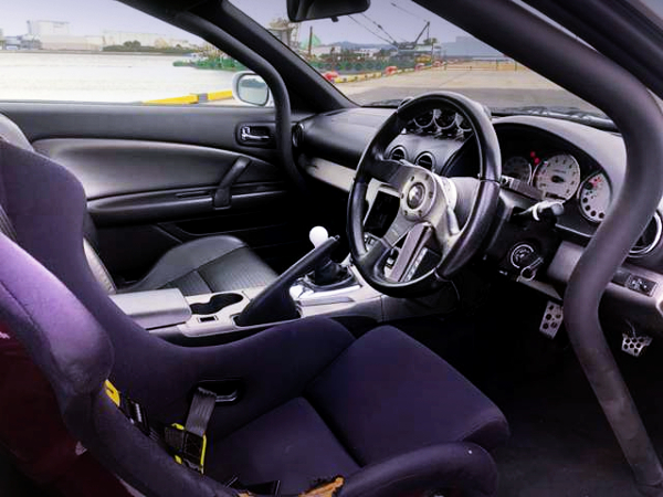 INTERIOR OF S15 SILVIA CUSTOM CAR