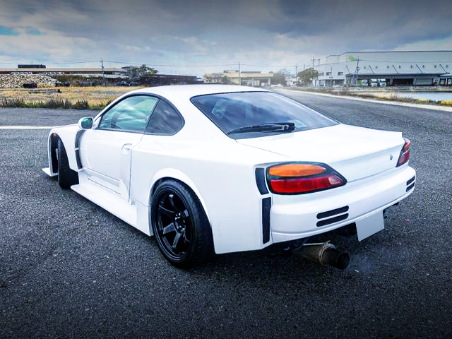 REAR EXTERIOR OF S15 SILVIA SPEC R L-PKG WIDEBODY