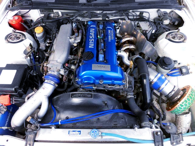 YMS COMPLETE SR20DET TURBO ENGINE