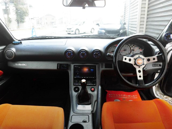 INTERIOR OF S15 SILVIA DASHBOARD