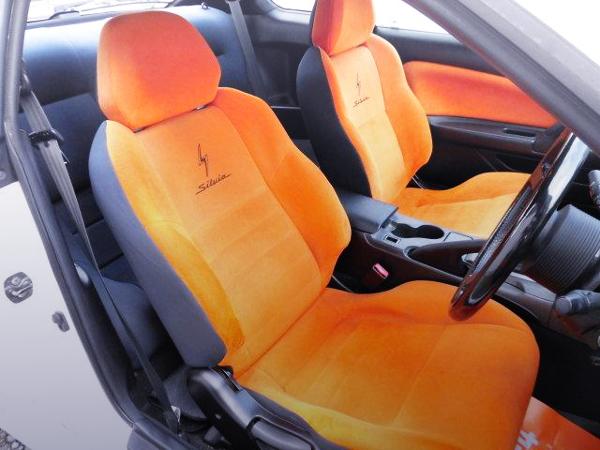 S15 SILVIA ORANGE SEATS