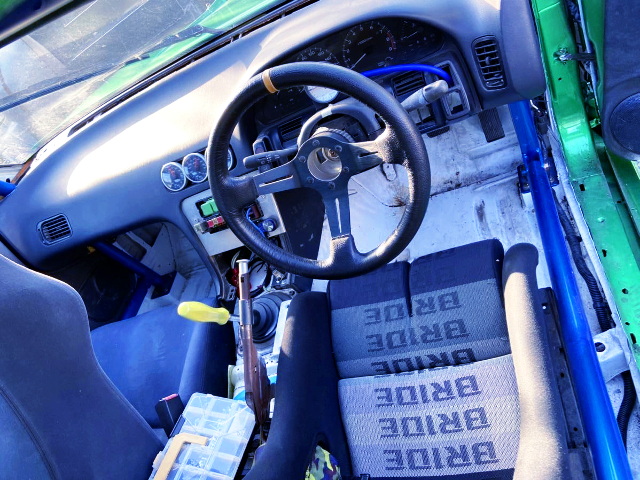 STEERING AND DASHBOARD OF S13 SILEIGHTY