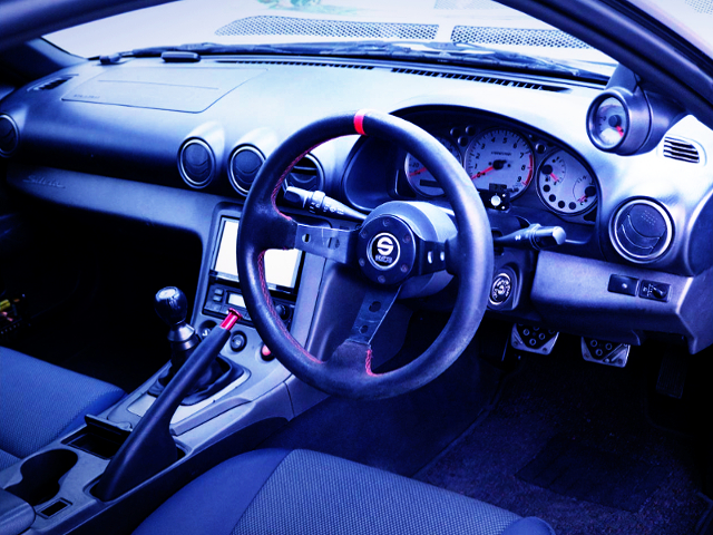 INTERIOR DASHBOARD OF S15 SILVIA SPEC-R