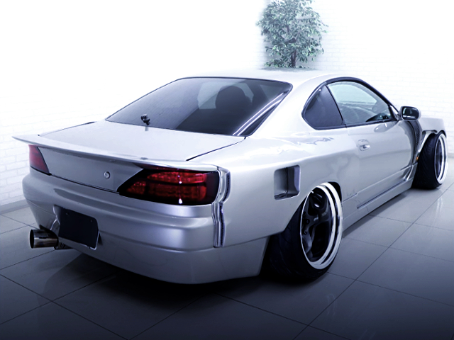 REAR EXTERIOR OF S15 SILVIA SPEC-R SUPER-MADE WIDEBODY