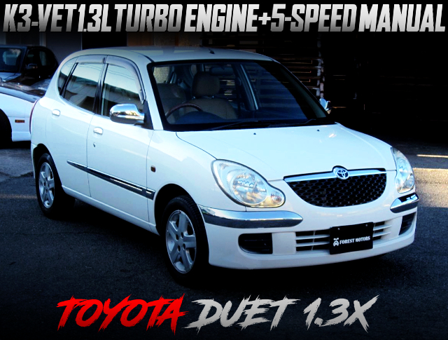 K3VET TURBO ENGINE SWAPPED M101A TOYOTA DUET