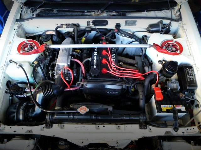 16V 4AG ENGINE OF AE86 MOTOR