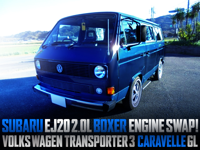 SUBARU EJ20 BOXER SWAPPED VW T3 CARAVELLE GL