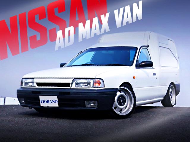SLAMMED AND BAGGED Y10 NISSAN AD MAX VAN