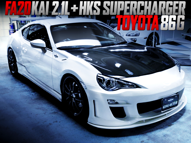 FA20 2100cc and HKS SUPERCHARGER INTO TOYOTA 86 G
