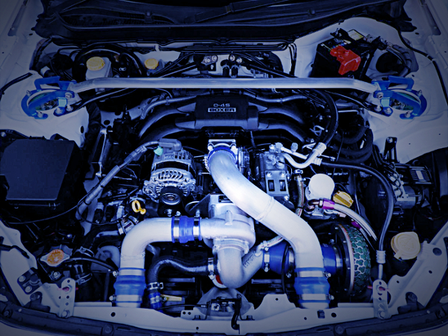FA20 BOXER With HKS SUPERCHARGER