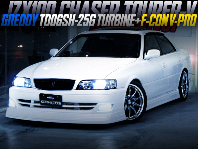 TD06SH-25G TURBO AND F-CON V-PRO INTO JZX100 CHASER TOURER-V
