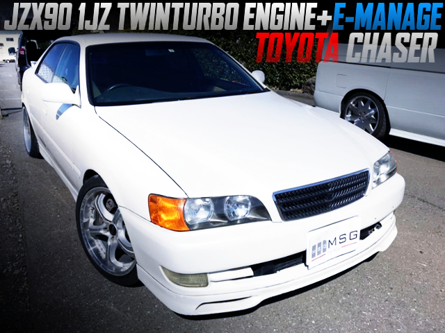 JZX90 1JZ TWINTURBO SWAP OF X100 CHASER