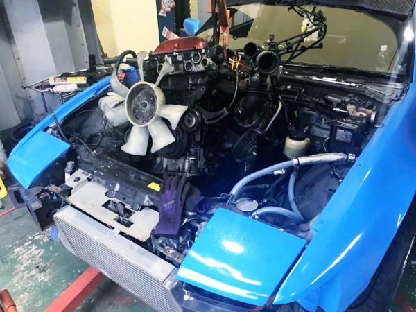 SR20DET ENGINE REMOVE