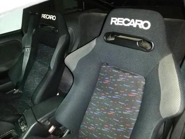 RECARO SR3 SEATS SETUP TO 180SX TYPE-X INTERIOR