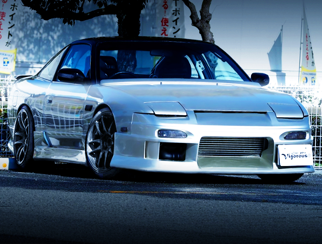 FRONT EXTERIOR OF 180SX TYPE-2