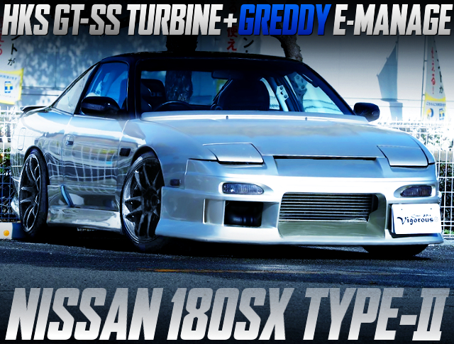 SR20DET With GT-SS TURBO AND E-MANAGE INTO 180SX TYPE-2