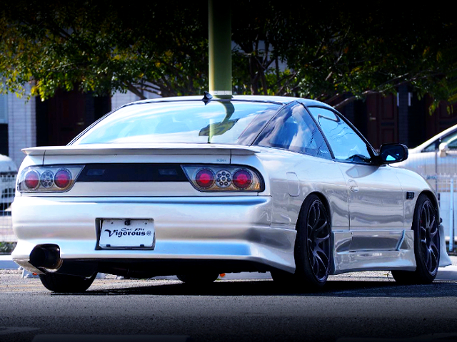 REAR EXTERIOR OF 180SX TYPE-2