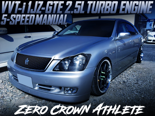 1JZ-GTE TURBO ENGINE AND 5MT SWAP ZERO CROWN ATHLETE