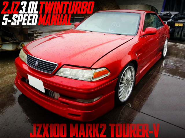 2JZ TWINTURBO AND 5MT SWAP JZX100 MARK2 TOURER-V