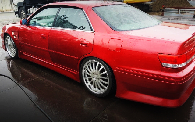 LEFT SIDE EXTERIOR OF JZX100 MARK2