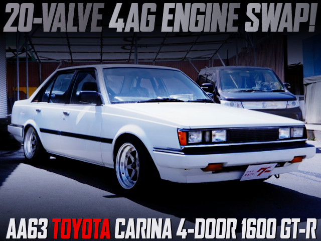 20V 4AG ENGINE SWAPPED AA63 CARINA 4-DOOR 1600 GT-R