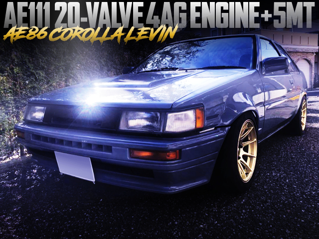AE111 20V 4AG SWAPPED AE86 COROLLA LEVIN