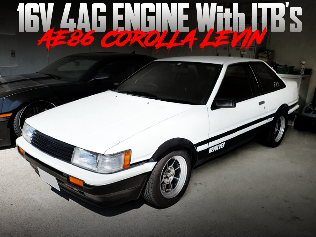 ITB'S on a 16V 4AG With AE86 LEVIN 2-DOOR