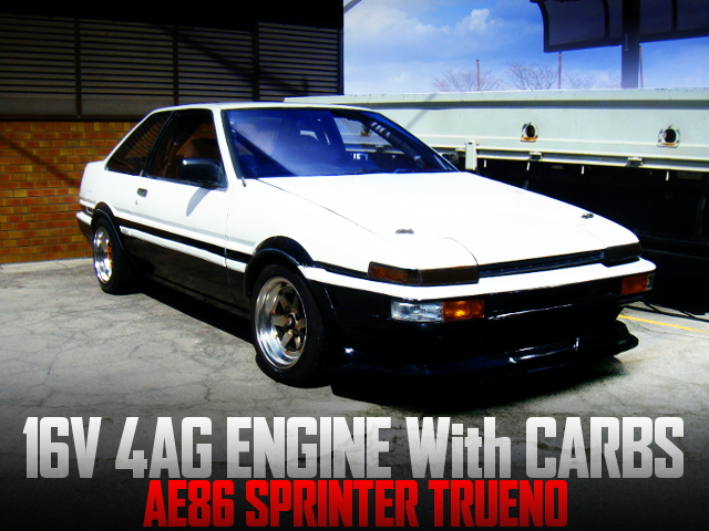 16V 4AG CARBS INTO AE86 SPRINTER TRUENO