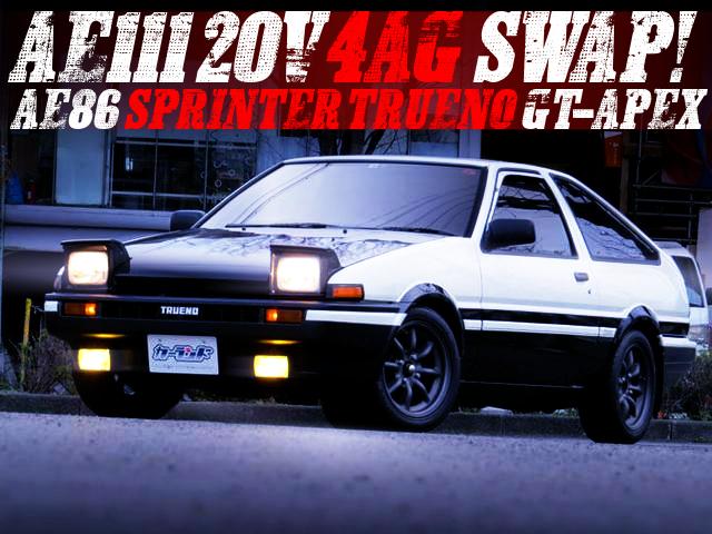 AE111 4AG SWAPPED AE86 TRUENO GT-APEX