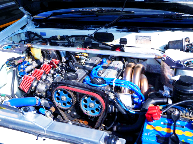4AG FULLY BUILT ENGINE WITH ITB'S