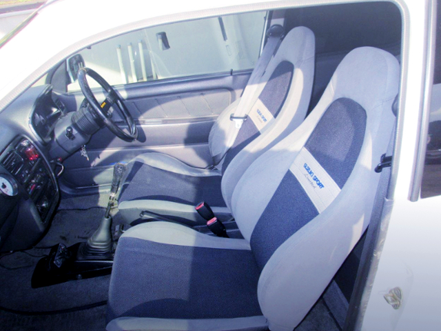 SUZUKI SPORT LIMITED SEATS